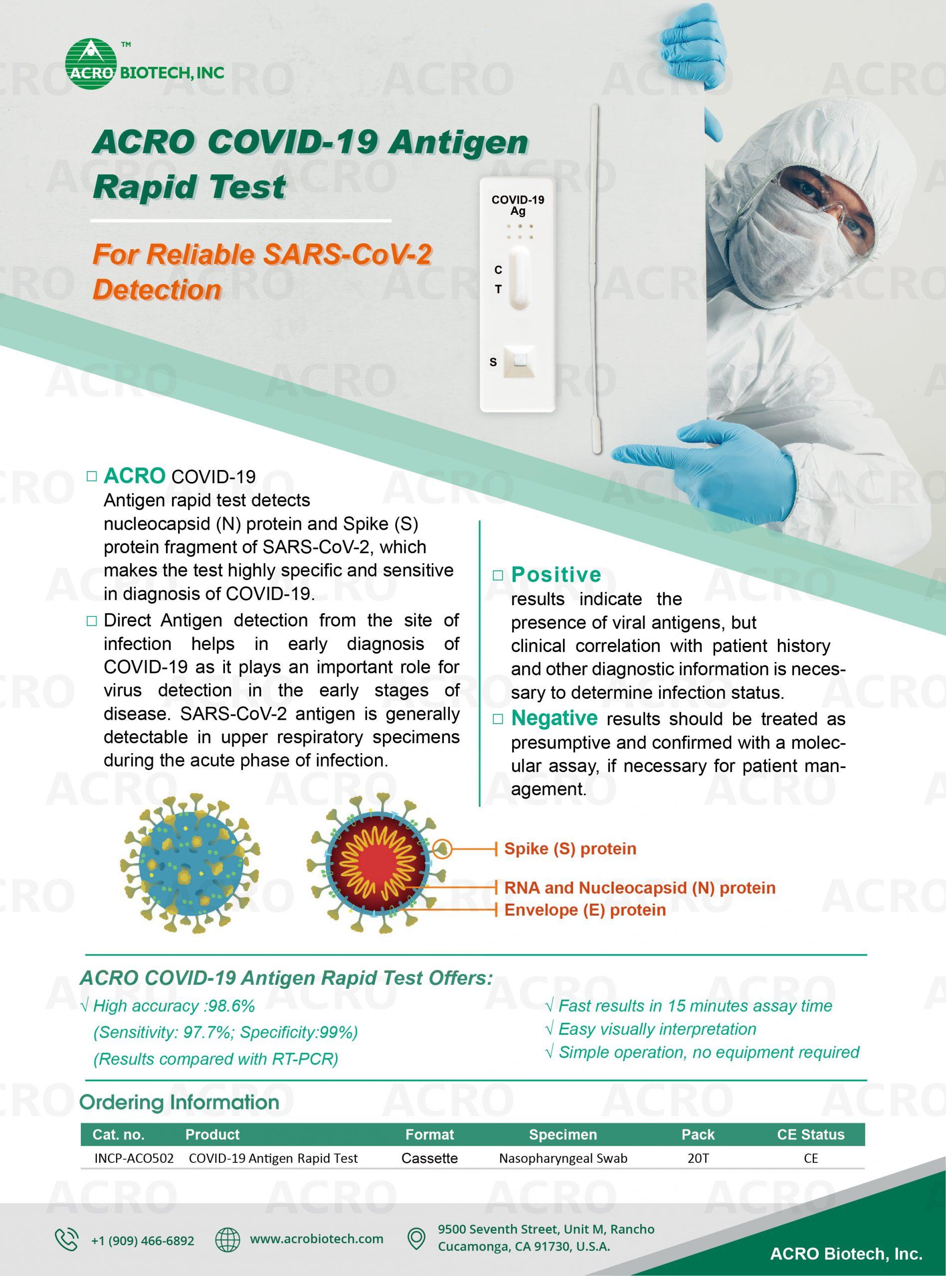 Covid-19 Antigen B presentation