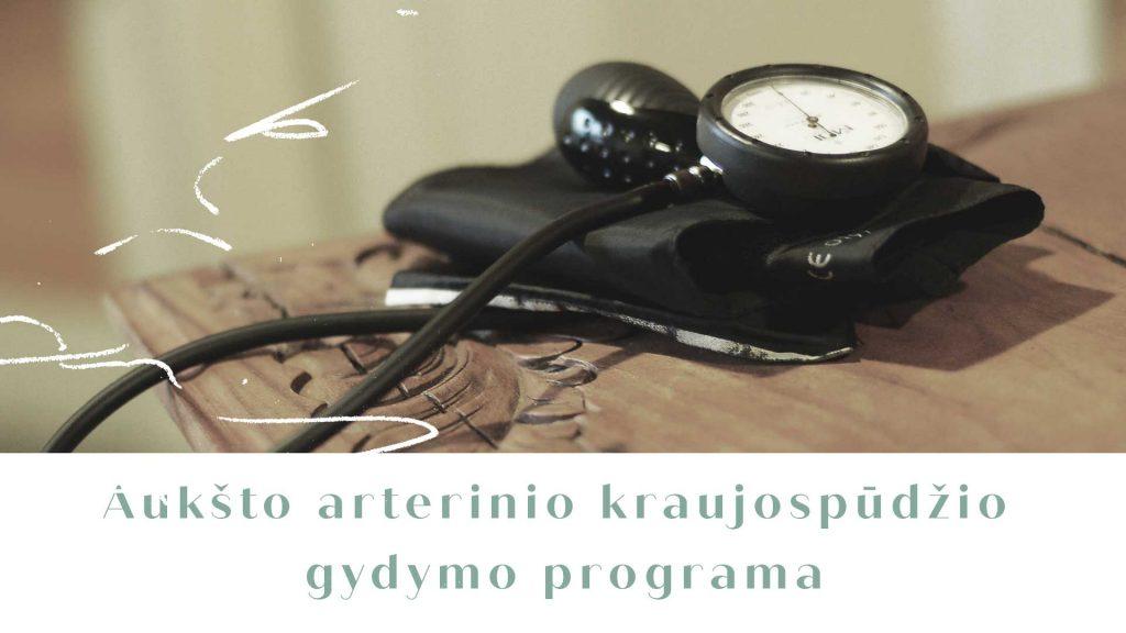 hipertenzijos gydymas fizinio lavinimo būdu