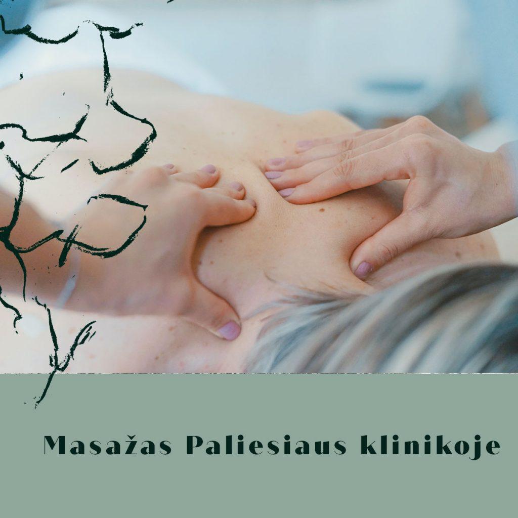 Masažas Vilniuje Paliesiaus klinikoje